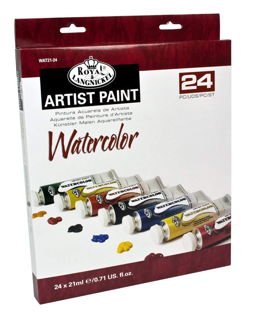 Watercolor artist magazine customer service - Amazon Com Royal Langnickel Watercolor Artist Tube Paint 21ml 24 Pack