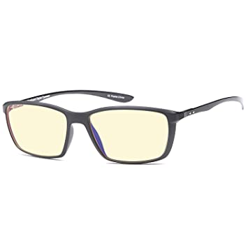 1109d3d4b97f Trust Optics FeatherView Computer Video Gaming Glasses w UV400 Anti Glare  High Frequency Harmful Blue Light