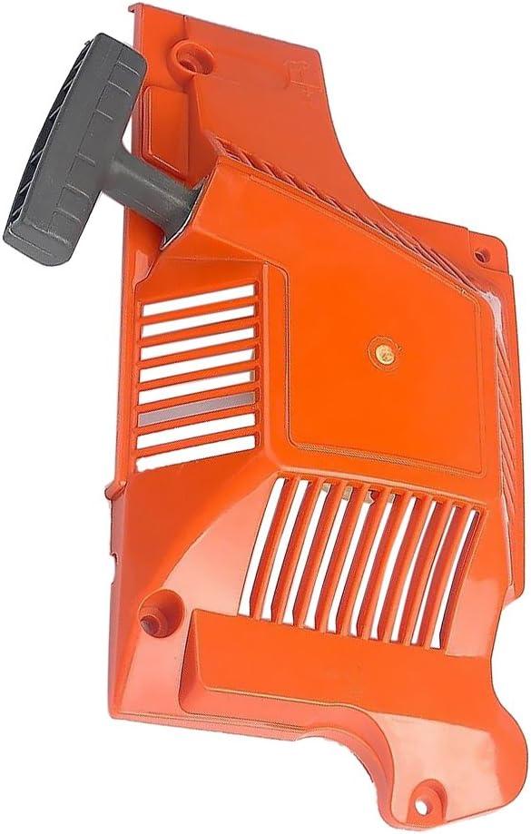 Motosierra de Retroceso de Arranque de Rebobinado Plástico Repuestos En forma para Husqvarna 50 51 55 motosierra