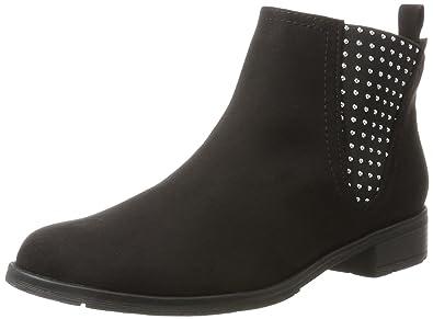 Marco Tozzi Damen 25051 Chelsea Boots, Schwarz (Black), 40 EU