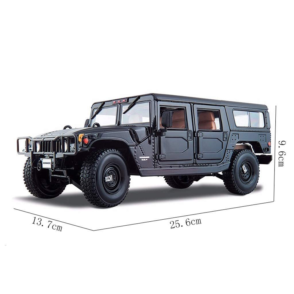 Amazon.com: Chef Vehicle Playsets 8:8 Car Hummer H8 Metal ... | hummer toy car