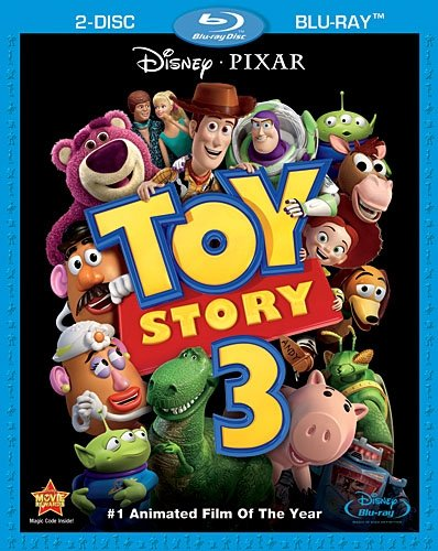 Poster of Toy Story 3 2010 Full Hindi Dual Audio Movie Download BluRay 480p