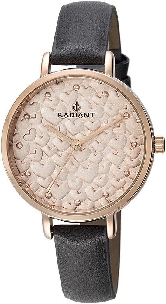 RADIANT Reloj Analógico para Mujer de Cuarzo con Correa en Piel RA431601