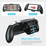 [Upgraded Version] Grip Case for Nintendo Switch