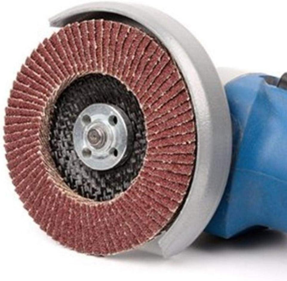 Lorchwise 10 Pcs 100mm Flap Sanding Discs 40//60//80//120 Grit Grinding Wheels Blades Angle Grinder Grinding Wheel Abrasive Paper 40//60//80//120 grit