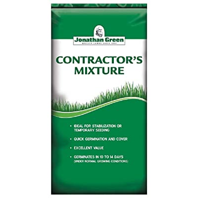 Jonathan Green Contractor's Grass Seed Mix, 25-Pound : Grass Plants : Garden & Outdoor