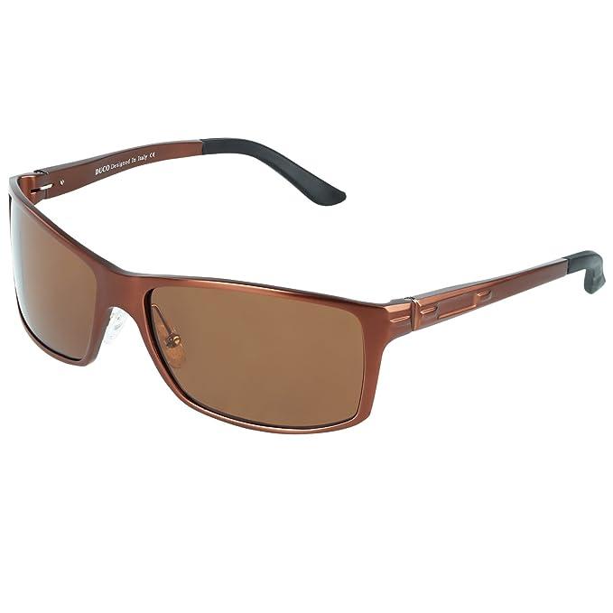 Duco 9018 - Gafas de Sol polarizadas para Deportes - DC-9018 ...