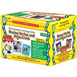 Carson-Dellosa Nouns, Verbs and Adjectives Learning Cards (D44045)