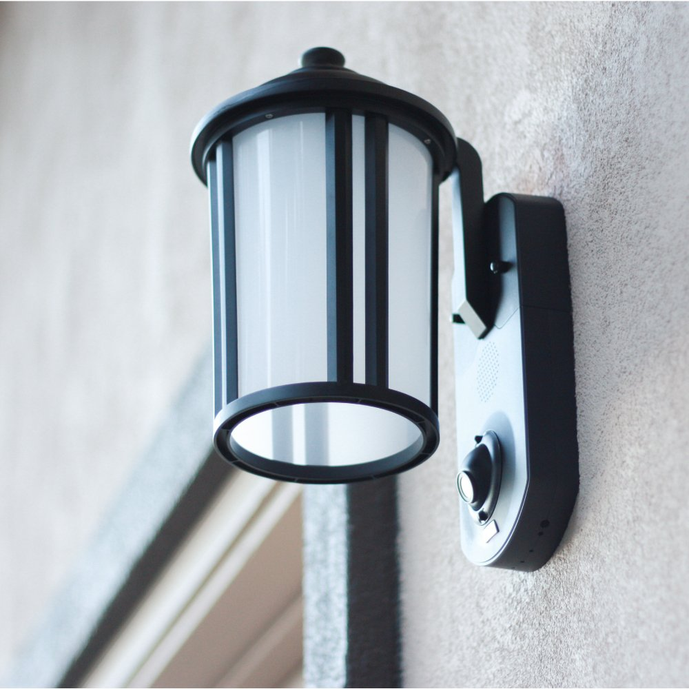 Maximus Video Security Camera & Outdoor Light - Traditional Black - Works with Amazon Alexa by Maximus (Image #3)
