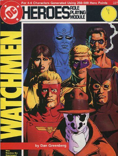 Watchmen: Who Watches the Watchmen? (DC Heroes Role Playing Module #227) (Game Module)