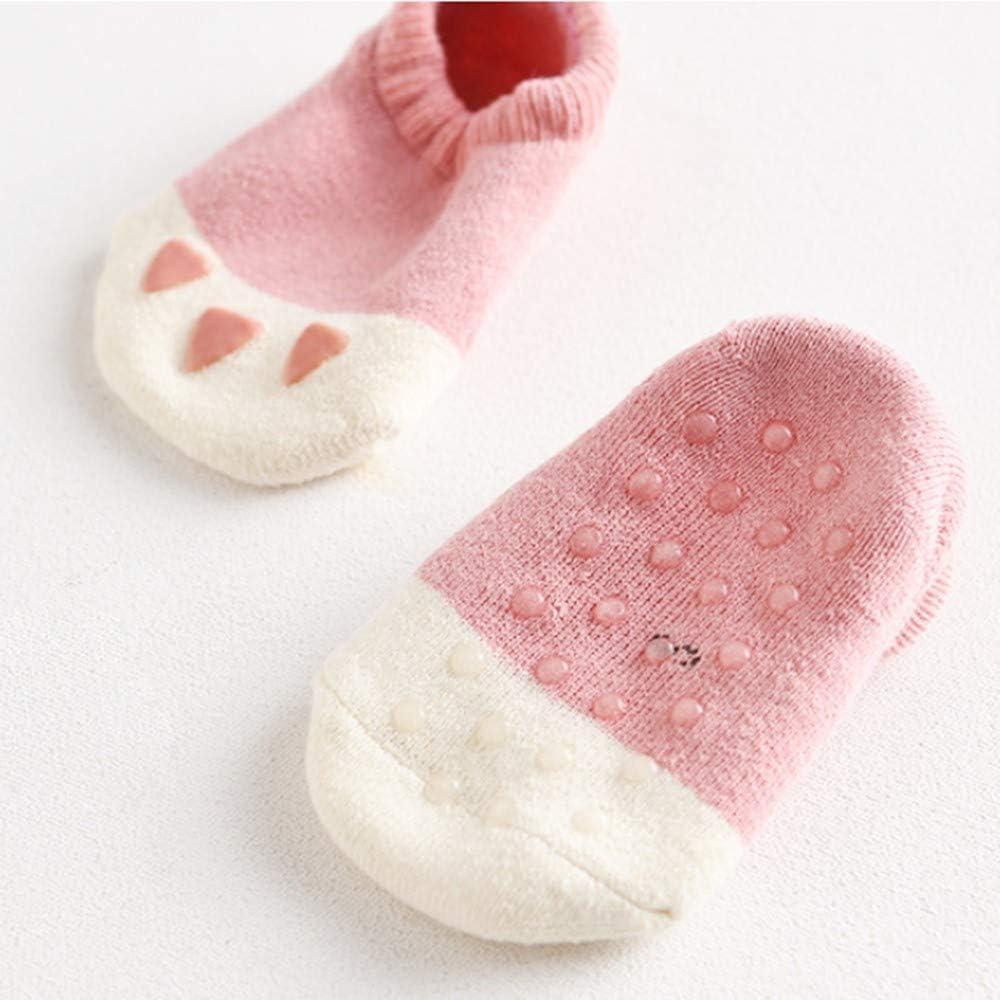 Calze Ragazze Ragazzo Spessi Cotone Caldo Inverno Confortevole Sweetneed Calzini Neonato Invernali 6 paia 0-3anni +Regalo per i Bambini borsa Regalo dei Cartoni Animati