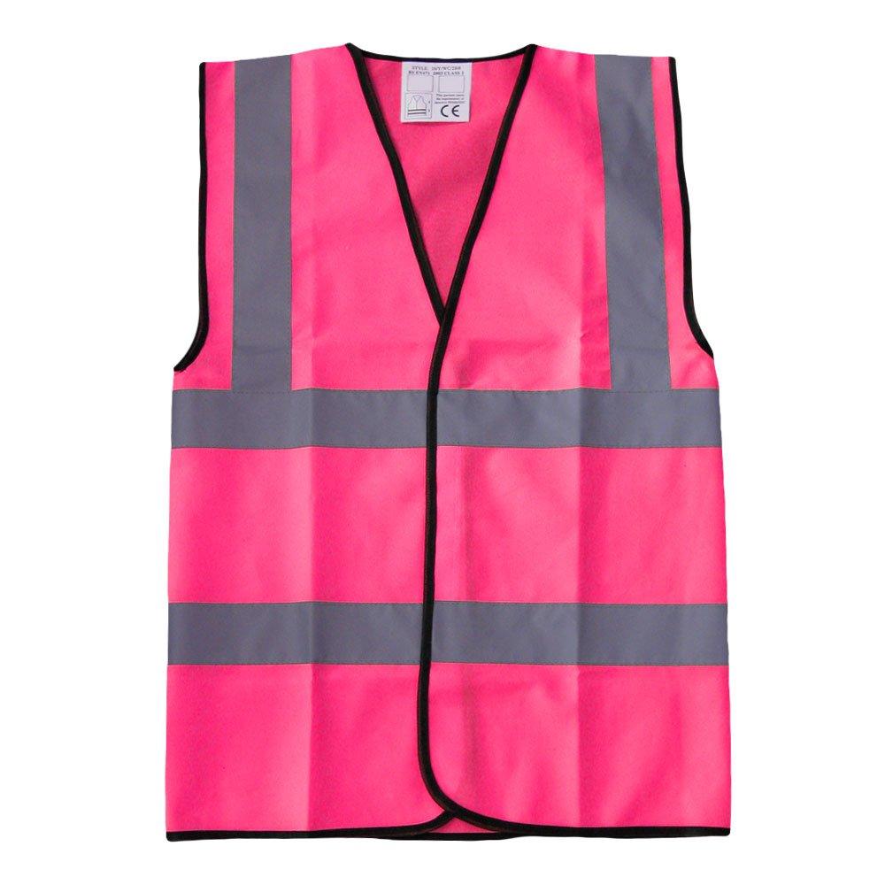 High Visibility Childrens Hi Vis Viz Vest Safety Waistcoat All Colours & Sizes Brook Hi Vis UK