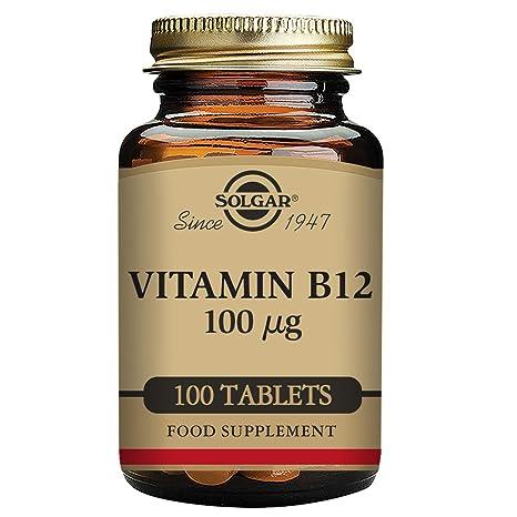 Comprimidos vitamina b12