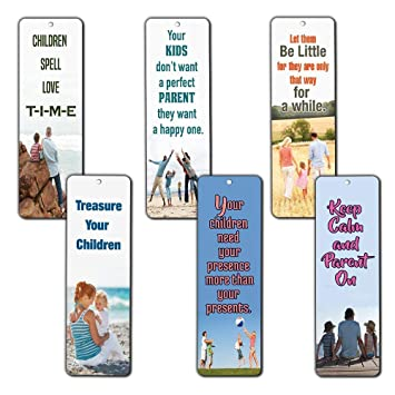 Amazon Com Family Quotes Parenting Love Inspirational Bookmarks