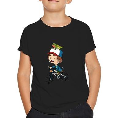 Camiseta Dustin de Strangers Things.Una Camiseta de Niño de ...
