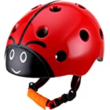 DR BIKE Kids Helmet Adjustable from Toddler to Youth Size, Ages 3 to 8 Years Old Boys Girls Multi-Sports Safety Cycling…