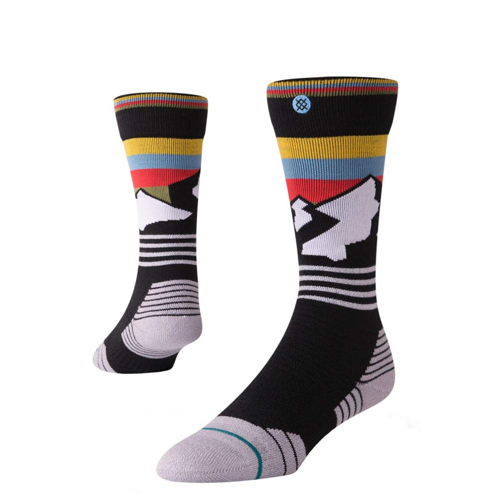 Stance Kids Wind Range Boys Ski/Snowboard Socks - Black | NEW Kids Snowboard/Ski Socks