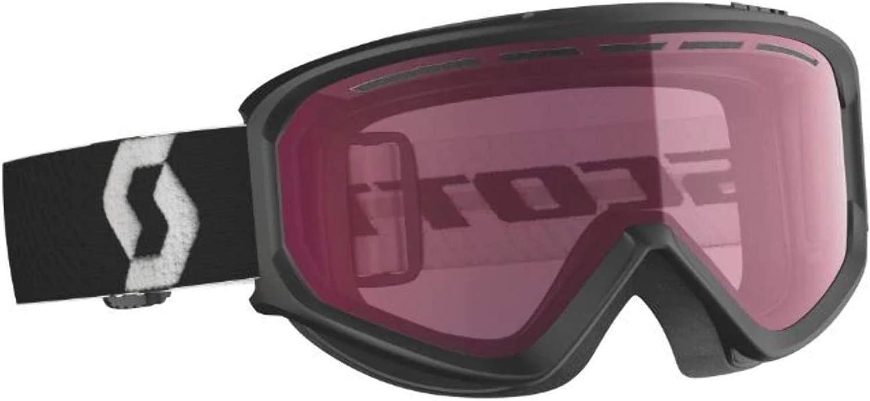 SCOTT FACT Snow Goggle Black Frame, Night Amplifier Lens