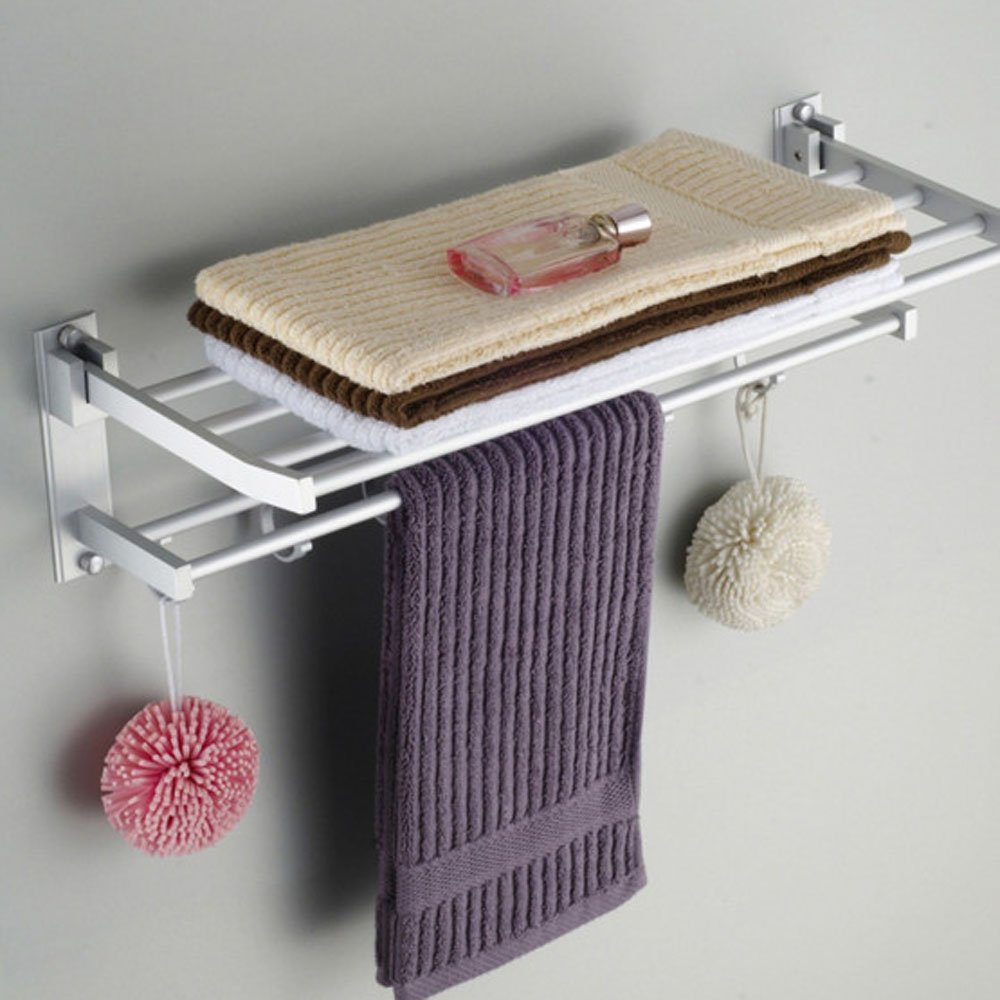 30 Off Wall Mounted Towel Holder Double Layer Hotel