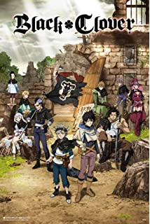 """Black Clover poster wall art home decoration photo print 24x24/"""" inches"""