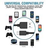 Garyway PS4 Controller Charging Cable, 2Pcs 10Ft