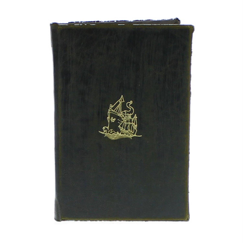 HomArt Maritime Embossed Journal - Ship (Black) (Set of 12)
