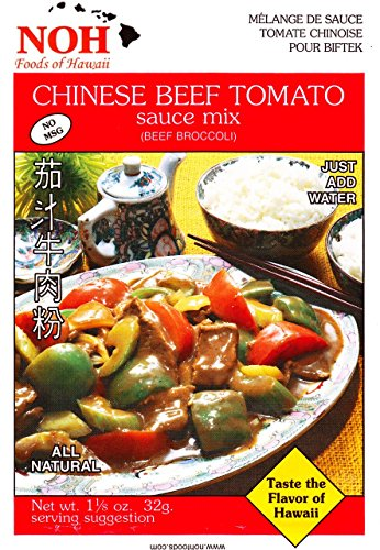 (NOH Chinese Beef Tomato, 1.12-Ounce Packet, (Pack of 12))