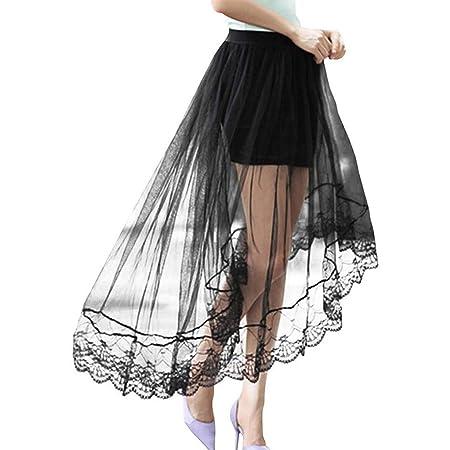 LLLucky Vestido de Fiesta Plisado de Cintura Alta para Mujer y ...