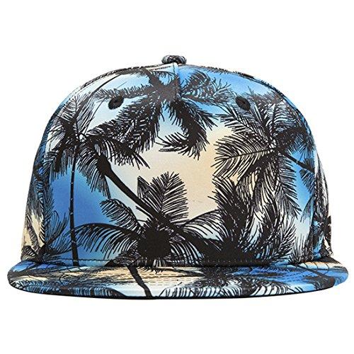 ChezAbbey 3D Printed Solid Brim Hip Hop Adjustable Hat Snapback Baseball Cap by ChezAbbey (Image #2)