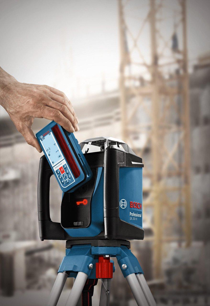 bater/ía de litio, alcance /Ø 500m, l/áser rojo, antirobo, receptor, malet/ín LR50 Bosch Professional GRL 500 H Nivel l/áser giratorio