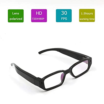 8a07dbdb0a Buy Cheval Spy Fashion Eyewear Glasses Hidden Camera HD 1080p Full HD  Online at Low Price in India