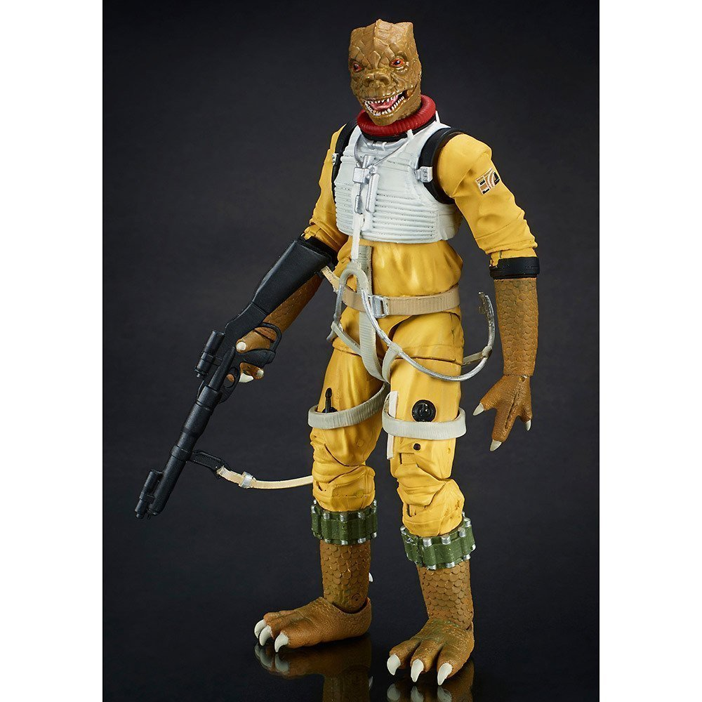 Reducción de precio Star Wars Serie Negro 6 pulgadas figuras Bosque longitud de 6 pulgadas de accioen figura pintada totales