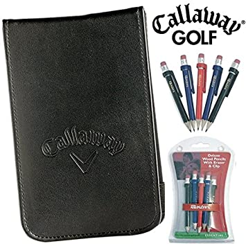 Callaway Leather Scorecard Holder
