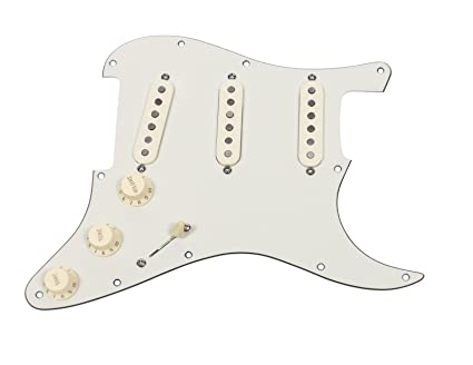 Stupendous Amazon Com Seymour Duncan Ssl 1 Loaded Strat Pickguard Strat Pa Aw Wiring Cloud Hisonuggs Outletorg