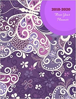 2018 - 2020 Quercus Three Year Planner: Agenda Planner for ...
