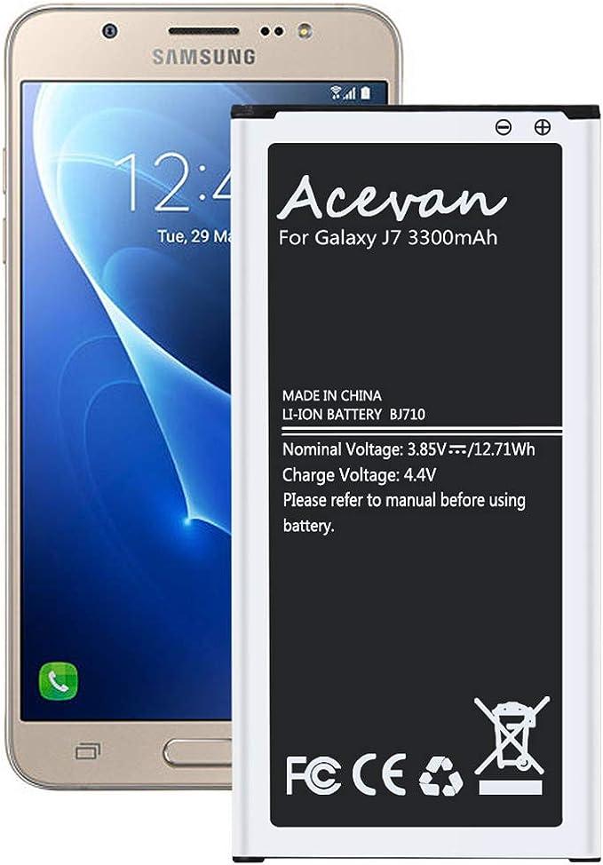 Acevan - Batería de Repuesto para Samsung Galaxy J7 Prime 2017 ...