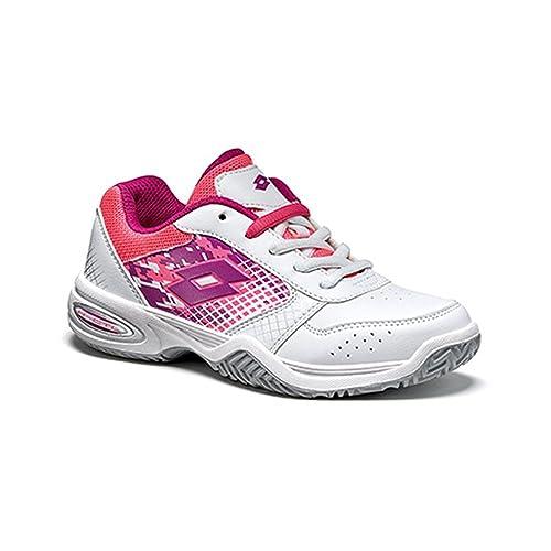 Lotto T-Strike IV Jr L, Zapatillas de Tenis Unisex Niños: Amazon.es: Zapatos y complementos