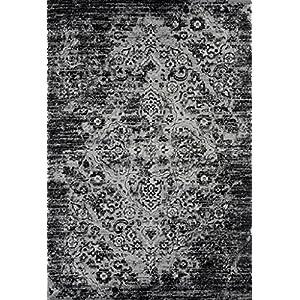 4620 Distressed Blue 5'2x7'2 Area Rug Carpet Large