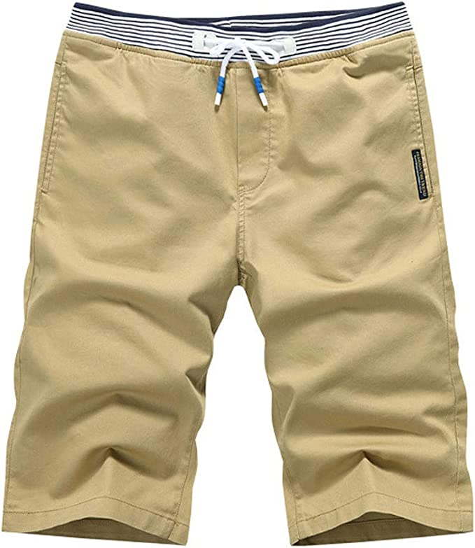Summer Loose Fit Solid Handsome Sports