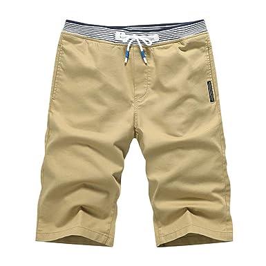 ZOELOVE Pantalones cortos Pantalones Cortos para Hombre ...