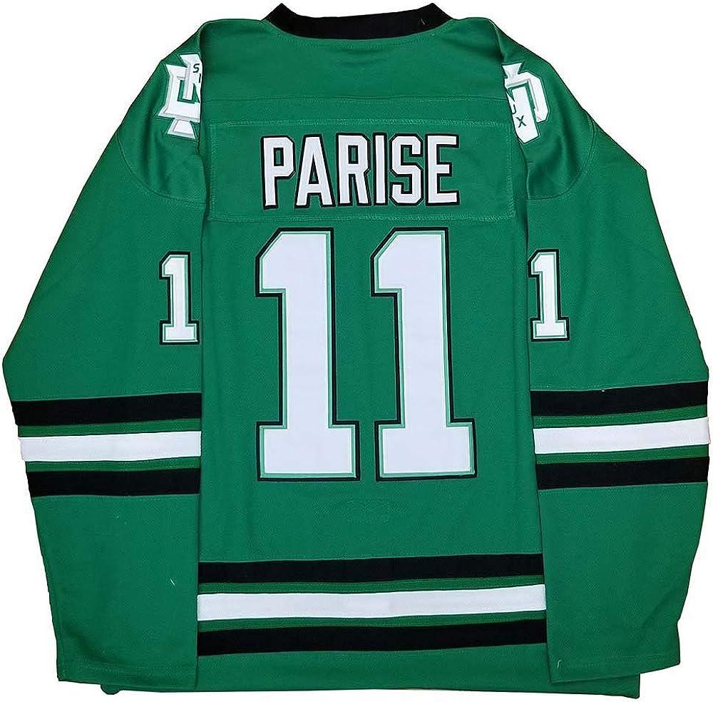 Custom Jonathan Toews #9 Zach Parise #11 Sioux Hockey Jersey S-6XL