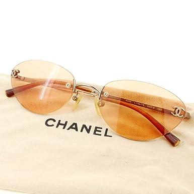 76dbf4d9c218 (シャネル) Chanel サングラス メガネ アイウェア ツーポイント 縁なし ココマーク レディース メンズ