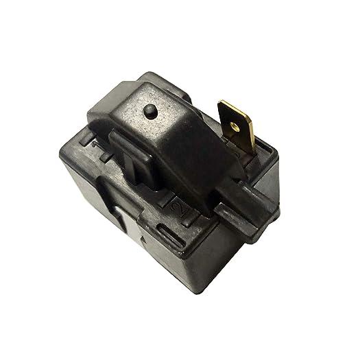 New Replacement PTC Starter Compressor Relay for LG Magic Chef Refrigerator//dehumidier P6R8MC