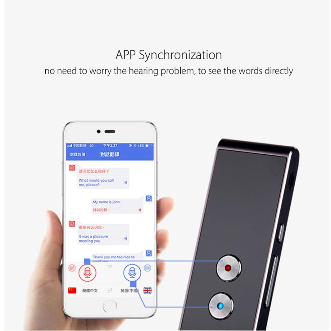 HP95 Smart Language Translator Device Easy Trans Instant Voice Speech Small  Electronic Pocket Voice 33 Languages for Travel Business