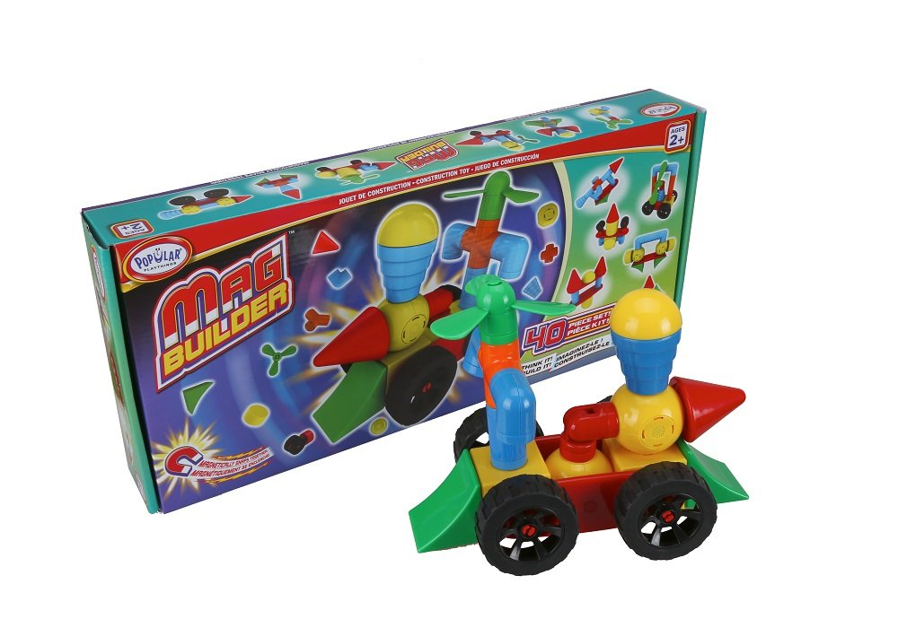 Popular Playthings Mag Builder Building Set (40 Piece)