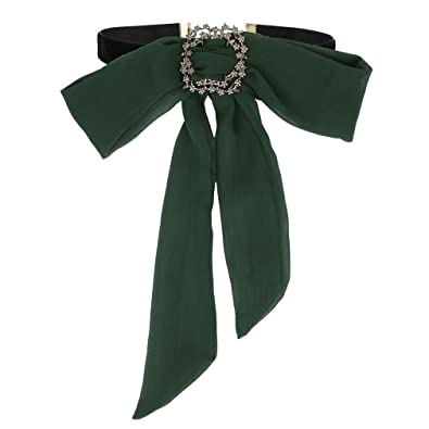 Amazon.com  ROWAG Bohemian Bow Tie Shirt Black Choker Necklace for Women  Girls Classic Handmade Adjustable Collar  Jewelry 9011f46c44