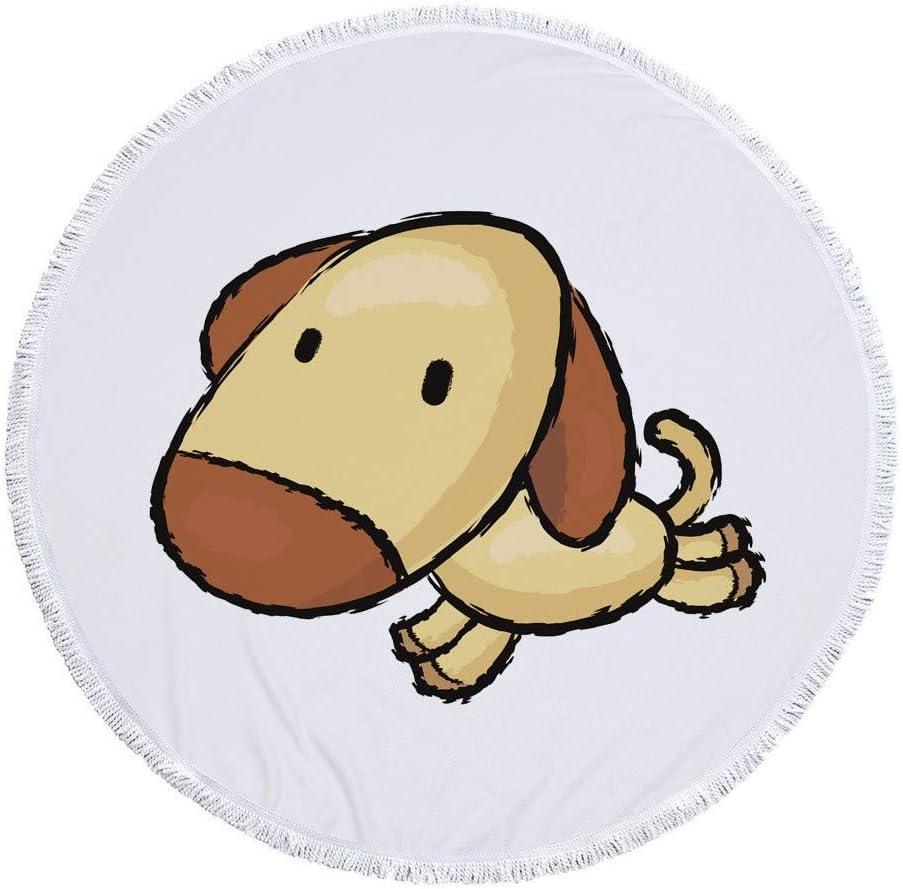 SPA Gimnasio Cara Toallas,Toalla De Playa con Estampado De Perro De Corte Divertido Toalla De Dibujos Animados De Animales Toalla De Ba/ño Multiusos Ultra Suave Altamente Absorbente para Manos