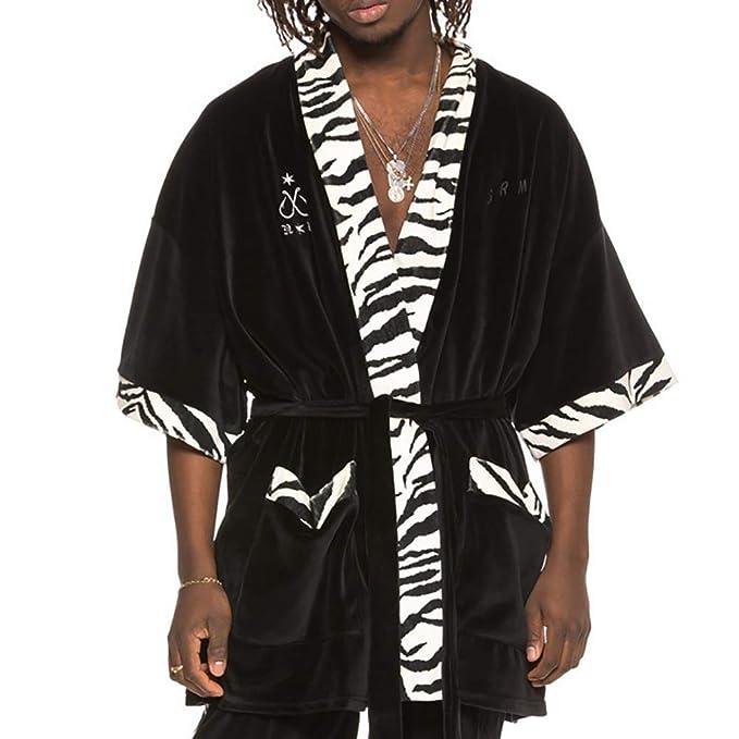 Grimey Kimono X Natos Y Waor Velour Negro L (Large)