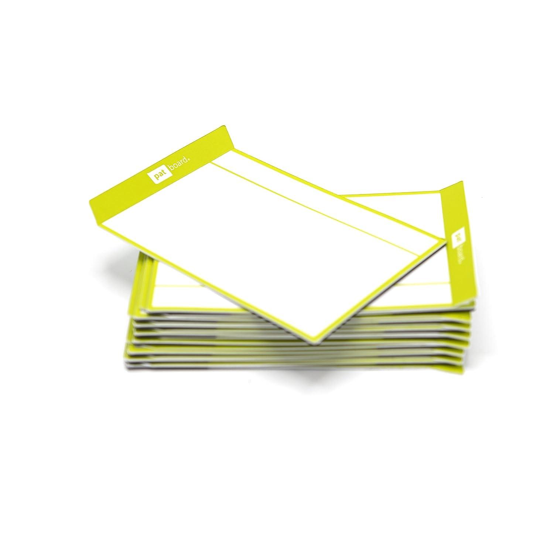 Magnetisch Haftnotizen f/ür agile Scrum oder Kanban Set von 16 Karten Magenta