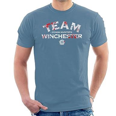 Cloud City 7 Supernatural Demon Hunters Team Winchester Men S T